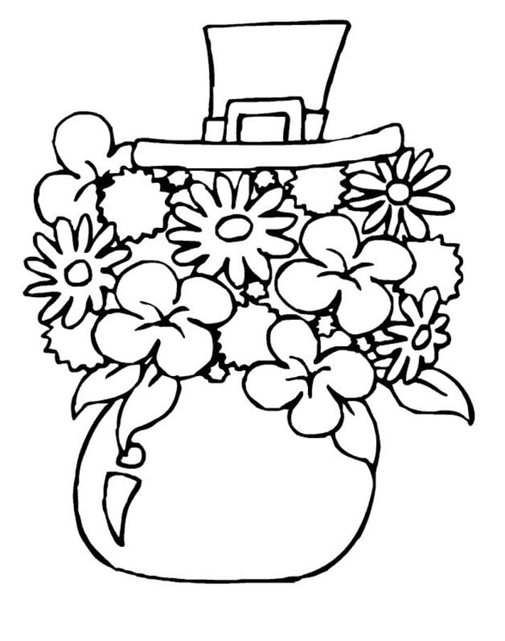 Coloring pages Coloring pages Shamrock printable for