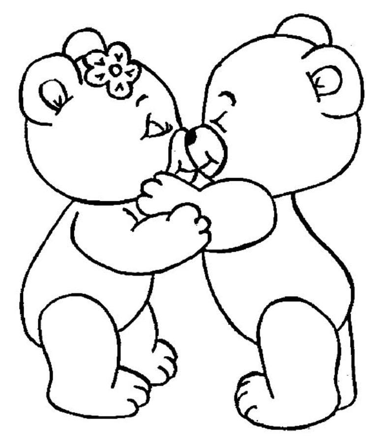 Ausmalbilder Teddybär Zum Ausdrucken Kostenlos Für Kinder Und
