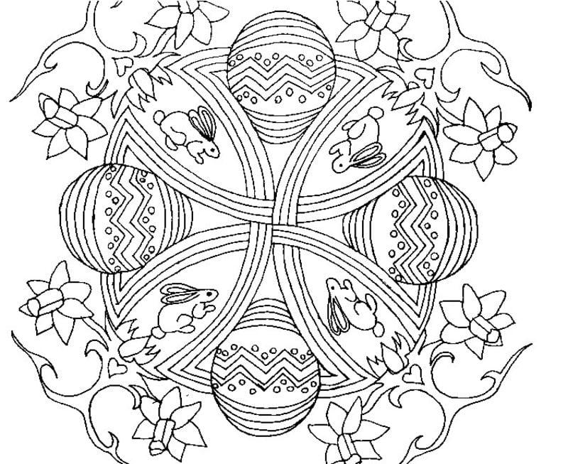 Placemat Kerst Kleurplaat Ausmalbilder F 252 R Erwachsene Ostern Zum Ausdrucken