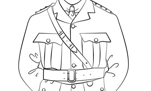 Coloring pages: Soldiers