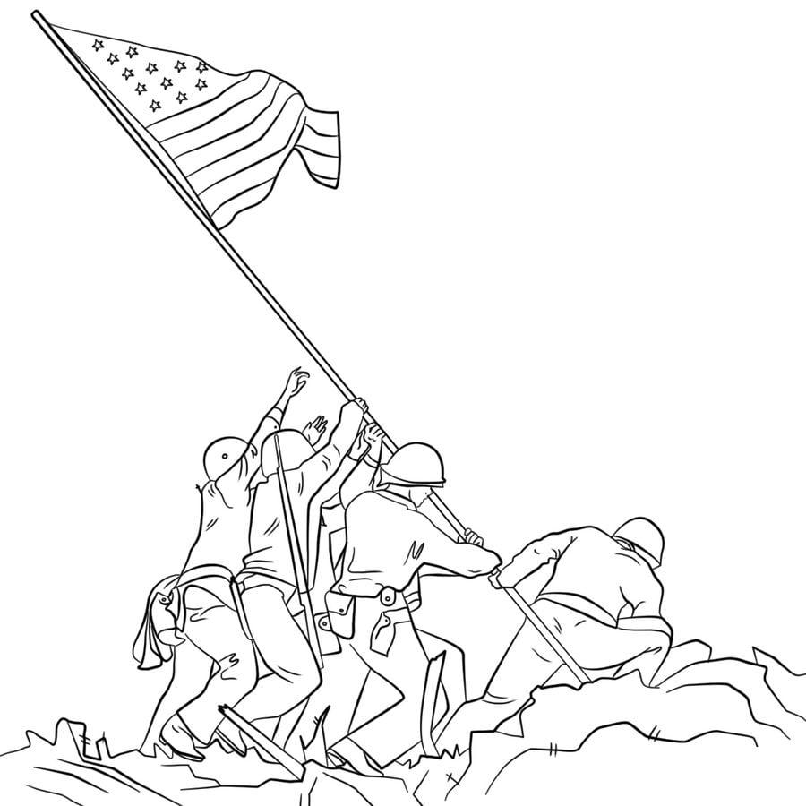 Disegni Da Colorare: Disegni Da Colorare: Soldato