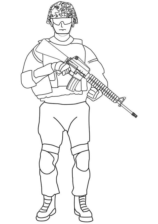 Kolorowanki Kolorowanki Żołnierze Do Druku Dla Dzieci I
