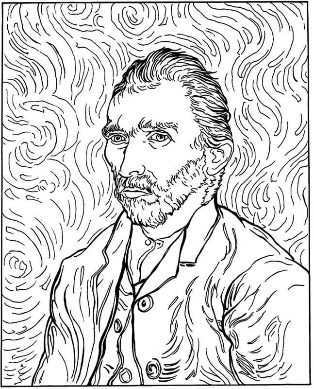 Coloriages pour adultes Vincent