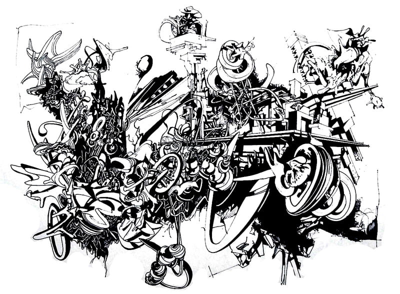 ausmalbilder für erwachsene graffiti zum ausdrucken