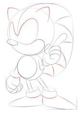 Sonic Bajki Nauka rysowania