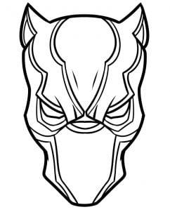 Tutorial De Dibujo Pantera Negra Paso A Paso Para Ninos