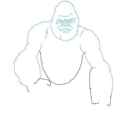 King Kong Drawings Easy Related Keywords Suggestions King Kong