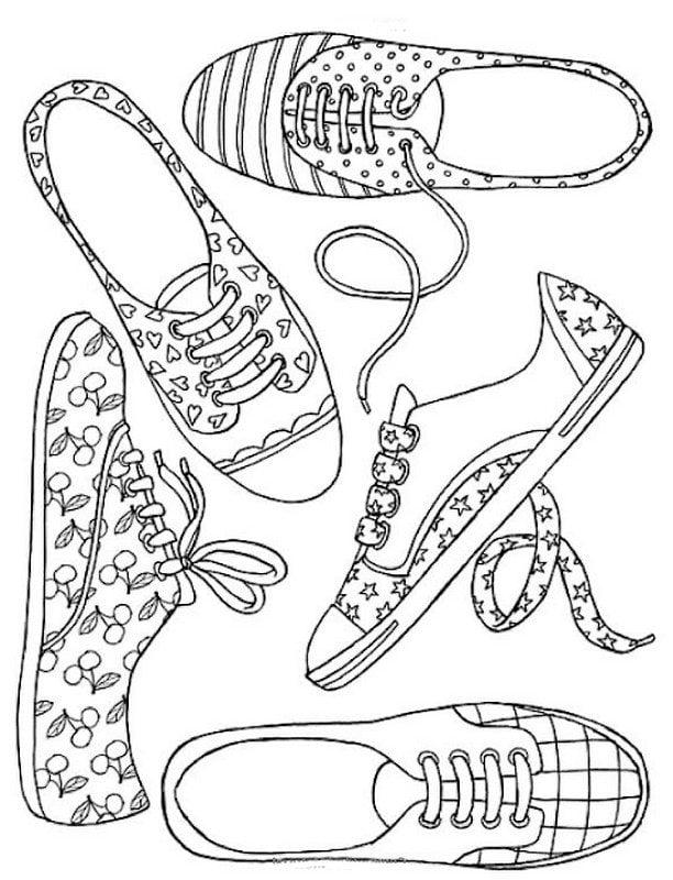 Dc Shoes Coloring Pages