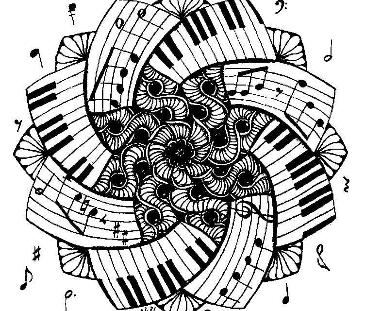 Ausmalbilder Für Erwachsene Musik Zum Ausdrucken Kostenlos Jpg Pdf