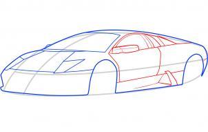 Lamborghini Murcielago Nauka rysowania Transport