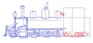 Lokomotywa Nauka rysowania Transport