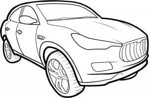 Maserati Kubang Nauka rysowania Transport