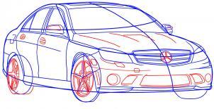 Mercedes-Benz Nauka rysowania Transport