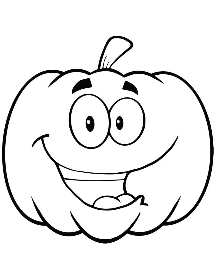 Free Printable Pumpkin Coloring Pages For Kids | 900x695