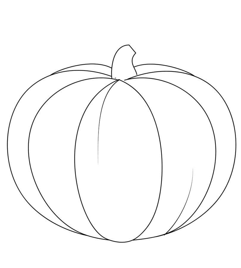 Ausmalbilder Herbst Kürbis: Kolorowanki: Kolorowanki: Dynia Do Druku Dla Dzieci I