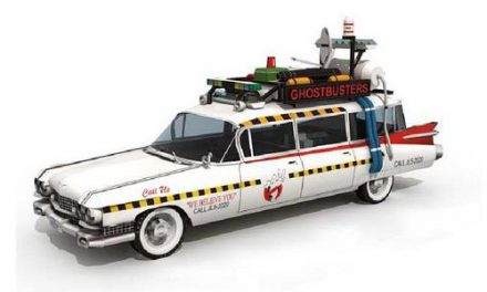 Ghostbusters' car